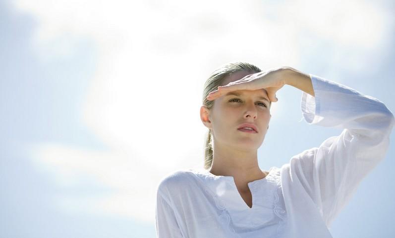 Kulit dehidrasi karena matahari