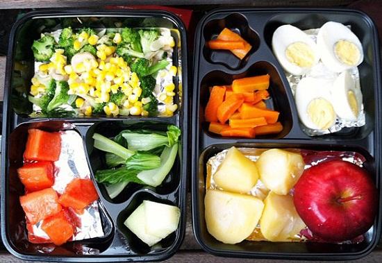 Ini adalah contoh menu diet mayo yang tanpa garam dan tanpa digoreng