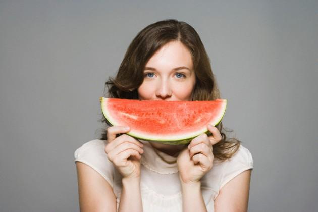 semangka untuk kulit kering
