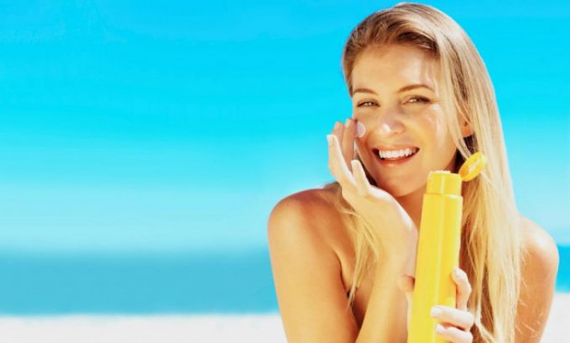 Lindungi wajah dari polusi dan sinar UV
